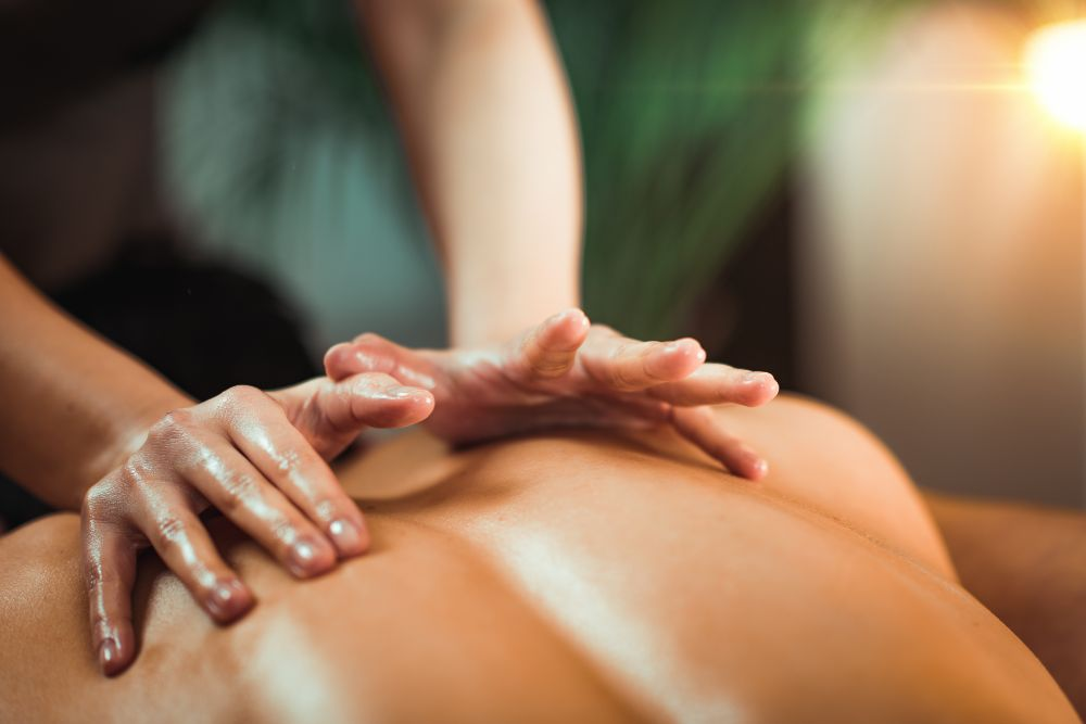 Swedish massage by Kelso Massage Therapy