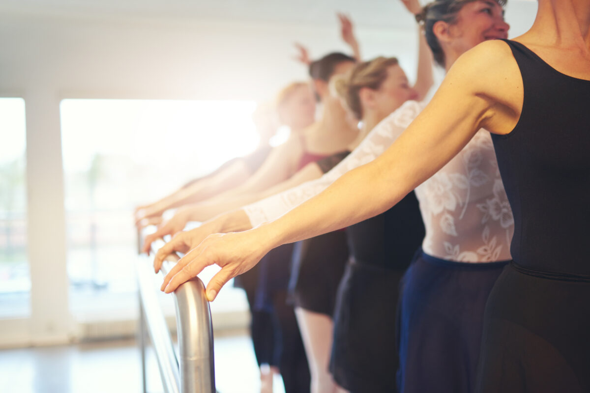 adult ballet class scottish borders